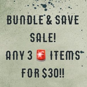 🚨🚨🚨SALE!!!!! 3 For $30!!🚨🚨🚨